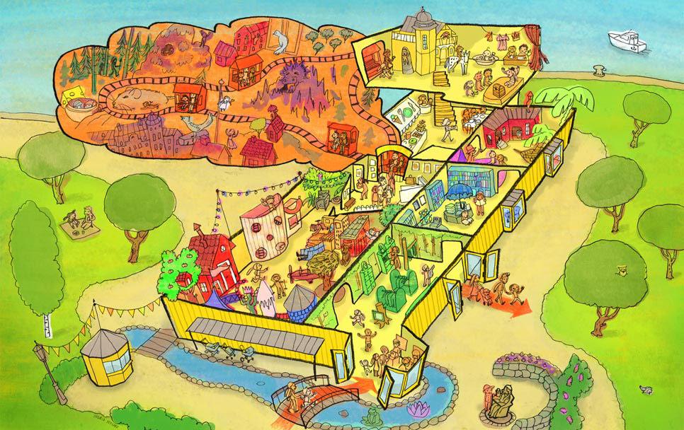 junibacken karta Junibacken – mental träning | junibacken karta